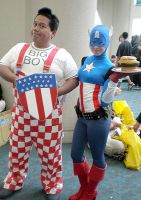 Big Boy and LTC America in 2008 at Comic-Con by Pabloramosart