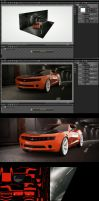 camaro project octane c4d by 3DEricDesign