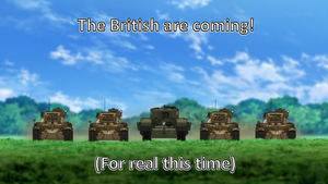 The British are coming by Kenisi
