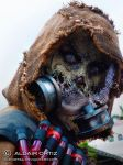 Scarecrow Cosplay Batman Arkham Knight Kuri 2014 by aldortsa