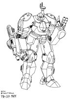 TR-001 Titan Combat Robot by Gundam-Chief