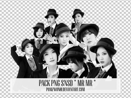 Pack PNG SNSD Mr Mr by pomzwon01