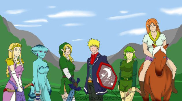 Heroes Across Time! The Team Gathers! by TheRealKyuubi16
