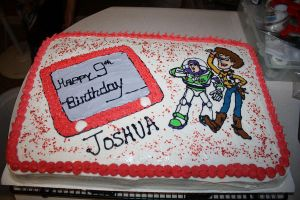 Toy Story Birthday Cake by picworth1000wrds