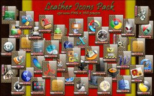 Leather Icons Pack by lewamora4ok