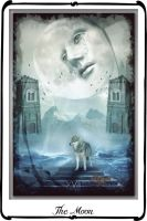 Tarot - The Moon by azurylipfe