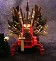 Iron Throne Man by JellyfishGreen