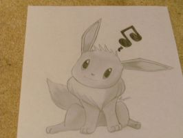 Outside Request: Eevee by scarletwing14