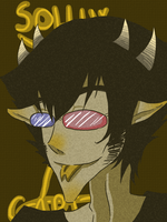 Sollux Captor Monochrome by Lacy-Succubus