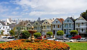 San Francisco Victorian Houses by mksven