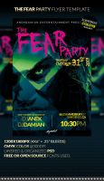 THE FEAR Party Flyer Template by anekdamian