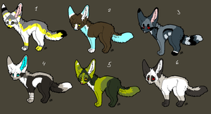 Points adoptables ALL GONE by V1KA