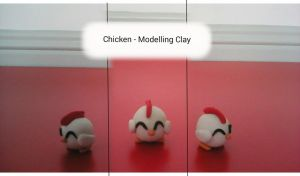 Chicken - Modeling Clay by CloudtheHen