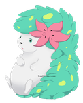 Shaymin by TheShinyEeeveee