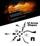 12 Arrow Shapes by DisasterLab