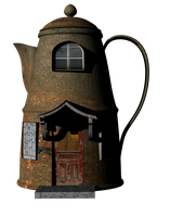 T-Pot House by mysticmorning
