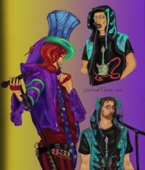 Mad T Party Colored Sketches by mynameisfaerie