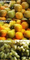 Fruit Photo Effects by floriyon