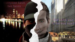 Two faces by Hiddenus