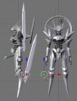 3d Valkyrie WIP 5 by Seig-Verdelet