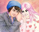 Ian and Sophie by Dinoralp