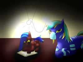 Uses for Magic: Powering a Lamp by TheTimeLordMarshal