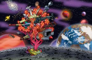 The KND Moonbase by KNDzero