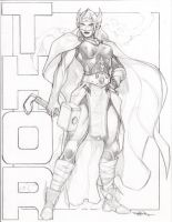 Jane Foster THOR by Dingodile24