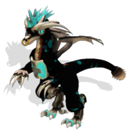 Draak spore species by Cyy-Evee