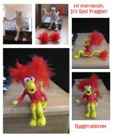 Hi Everybody, its Red Fraggle! by raggyrabbit94
