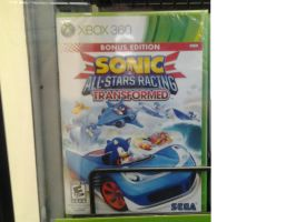 Sonic All Stars Racing Transformed by sonicfan40