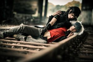 Togainu no Chi - as he slides up to you by NanjoKoji