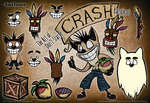 Don't Starve Mod Character - Crash Bandicoot by TariToons