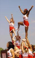 Cheerleaders in air by eyenoticed