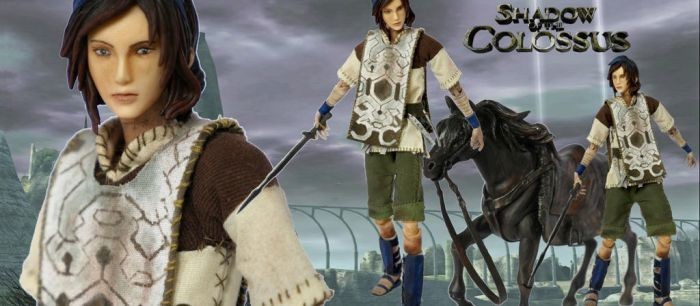 Shadow of the Colossus Wander Custom Action Figure by SomethingGerman