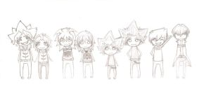 YuGiOh: Group1 incomplete by DevminGlening