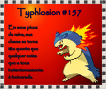 Typhlosion Wallpaper by Fritzz88
