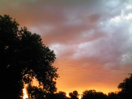 Sunset by my House 2 by eugenio1