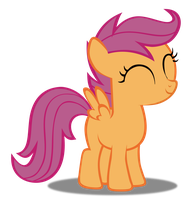 Scootaloo Smile by CassidyCreations