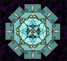 clockwork mandala by vida-en-color