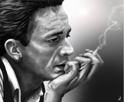 Johnny Cash by DookieAdz