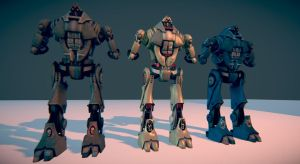 Mech Variants by ptornot