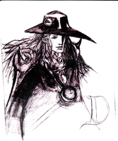 vampire hunter D sketch 2 by chasz-manequin