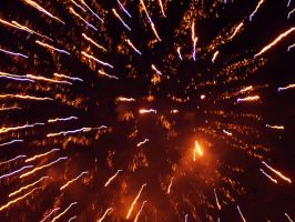 Stock: Fireworks Trier 2005 by Aquarior