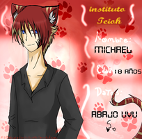 ficha-::michael- Instituto Teioh:: by bachadark93