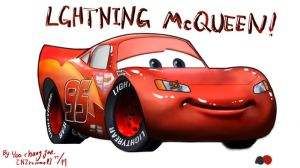 'CARS', LGHTNING McQUEEN by NZrommel