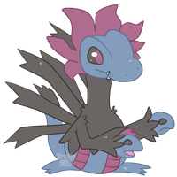 Day 2 - Favourite Dark Type - Hydreigon by Torotix