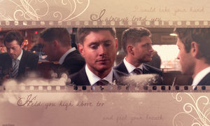 I Always Loved You (Destiel wallpaper) by mistofstars