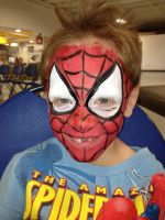 happy spiderboy by carlmann