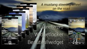 A Mustang Steering Wheel On the Road [Android] by Mstrl